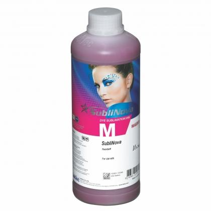 Botella 1 litro tinta sublimación SubliNova Magenta