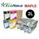 EEC-MP02L Tinta eco-solvente EcoNova MAPLE para plóters Mimaki - Bolsa 2 litros - negro