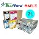 EEC-MP02L Tinta eco-solvente EcoNova MAPLE para plóters Mimaki - Bolsa 2 litros - cian