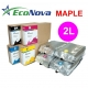 EEC-MP02L Tinta eco-solvente EcoNova MAPLE para plóters Mimaki - Bolsa 2 litros - magenta