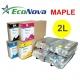 EEC-MP02L Tinta eco-solvente EcoNova MAPLE para plóters Mimaki - Bolsa 2 litros - amarillo