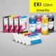 EKI Cartucho de tinta pigmentada compatible con plóters Epson Stylus Pro 7880/9880, PX-7550/9550 - Cartucho 220ml - amarillo - inktec