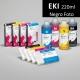 EKI Cartucho de tinta pigmentada compatible con plóters Epson Stylus Pro 7880/9880, PX-7550/9550 - Cartucho 220ml - negro-foto - inktec