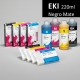 EKI Cartucho de tinta pigmentada compatible con plóters Epson Stylus Pro 7880/9880, PX-7550/9550 - Cartucho 220ml - negro-mate - inktec