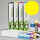 ESU Cartucho de tinta eco-solvente para plóters Roland y Mutoh (DX4/DX5) - Cartucho 440ml - amarillo