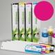 ESU Cartucho de tinta eco-solvente para plóters Roland y Mutoh (DX4/DX5) - Cartucho 440ml - magenta
