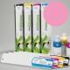 ESU Cartucho de tinta eco-solvente para plóters Roland y Mutoh (DX4/DX5) - Cartucho 440ml - magenta-claro