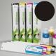 ESU Cartucho de tinta eco-solvente para plóters Roland y Mutoh (DX4/DX5) - Cartucho 440ml - negro