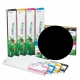 EED2 Cartucho de tinta eco-solvente EcoNova AURORA para plóters Roland (DX7), EcoSolMax2, 440ml - negro