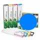 EED2 Cartucho de tinta eco-solvente EcoNova AURORA para plóters Roland (DX7), EcoSolMax2, 440ml - cian