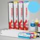 NEHS Cartucho de tinta solvente para plóters Mimaki JV33 y CJV30 - Cartucho 440ml - cian-claro
