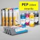 PEP Cartucho de tinta pigmentada PowerChrome para plóters Epson Stylus Pro 4000/9600 - Cartucho 220ml - amarillo