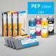 PEP Cartucho de tinta pigmentada PowerChrome para plóters Epson Stylus Pro 4000/9600 - Cartucho 220ml - cian