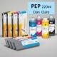 PEP Cartucho de tinta pigmentada PowerChrome para plóters Epson Stylus Pro 4000/9600 - Cartucho 220ml - cian-claro