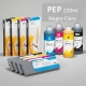 PEP Cartucho de tinta pigmentada PowerChrome para plóters Epson Stylus Pro 4000/9600 - Cartucho 220ml - negro-claro
