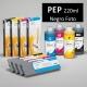 PEP Cartucho de tinta pigmentada PowerChrome para plóters Epson Stylus Pro 4000/9600 - Cartucho 220ml - negro-foto