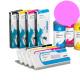 PLD Cartucho de tinta dye para plóters Mimaki, Roland, Epson y Mutoh - Cartucho 220ml - magenta-claro