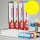 NEHS Cartucho de tinta solvente para plóters Mimaki JV33 y CJV30 - Cartucho 440ml - amarillo