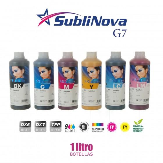 Tinta Sublinova G7 SES botellas de litro