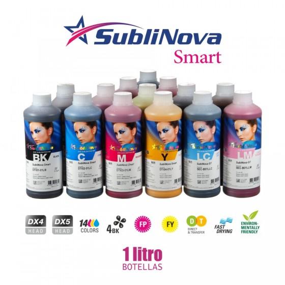 Tinta de sublimación Inktec Sublinova Smart litros