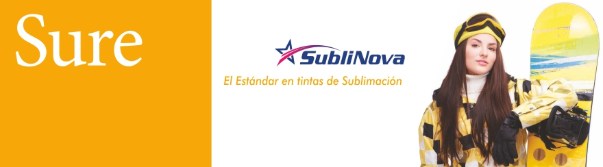 Tintas de sublimación Sublinova Sure
