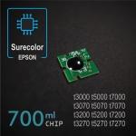 Chip 700ml para Epson Surecolor SC-T3000/T5000/T7000, T3070/T5070/T7070, T3200/T5200/T7200, T3270/T5270/T7270 - negro-foto