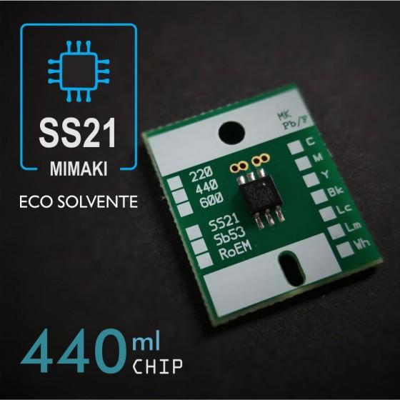 Chip compatible Mimaki SS21 440ml