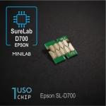 Chip para Epson SureLab SL-D700 - negro