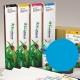 ESE Cartucho de tinta eco-solvente EcoNova ID para plóters Roland y Mutoh (compatibles con EcoSolMax)) - Cartucho 440ml - cian